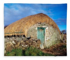 Thatched Shed, St Johns Point, Co Fleece Blanket