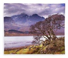 The Cuillins Skye Fleece Blanket