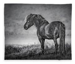 The Dark Goddess Fleece Blanket