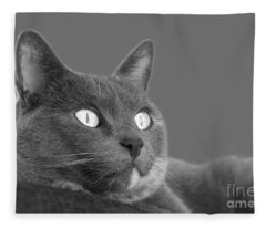 The Eyes Have It Fleece Blanket