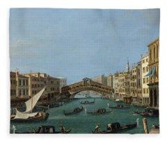 The Grand Canal Fleece Blanket
