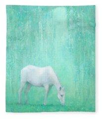 The Green Glade Fleece Blanket