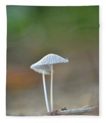 The Mushrooms Fleece Blanket