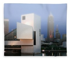 The Rock And Roll Hall Of Fame Fleece Blanket