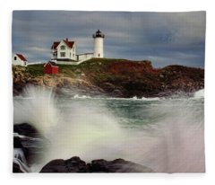 Thundering Tide Fleece Blanket