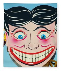 Tillie The Clown Of Coney Island Fleece Blanket