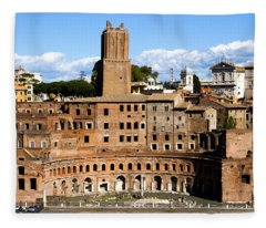 Trajan's Market  Fleece Blanket