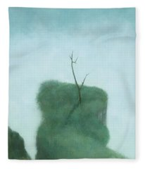 Tree At Iguazu Fleece Blanket