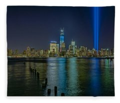 Tribute In Lights Fleece Blanket