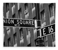 Union Square West Fleece Blanket
