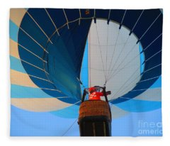 Up Into The Blue. Oshkosh 2012. Fleece Blanket