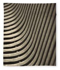 Upward Curve. Fleece Blanket
