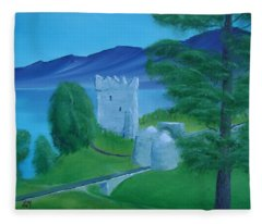 Urquhart Castle Fleece Blanket