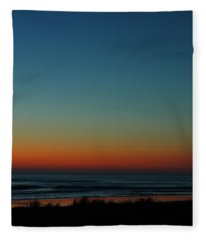 Venus And Atlantic Before Sunrise Fleece Blanket