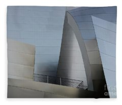 Walt Disney Concert Hall 2 Fleece Blanket
