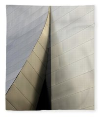 Walt Disney Concert Hall 6 Fleece Blanket