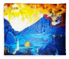 What Dreams May Come  Fleece Blanket