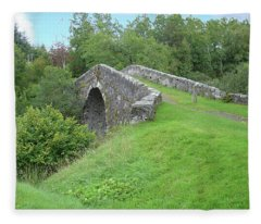 White Bridge Scotland Fleece Blanket