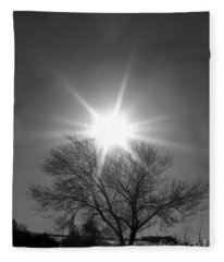 Winter Light Fleece Blanket