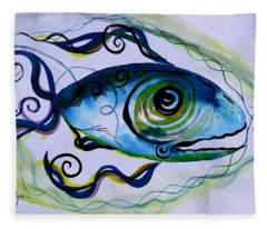 Wtfish 009 Fleece Blanket