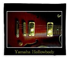 Yamaha Hollowbody 4 Fleece Blanket