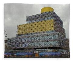 Birmingham Library Fleece Blanket