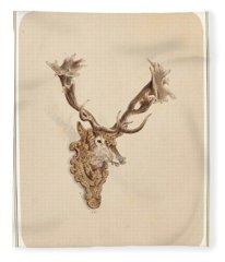 , Buck Head Fleece Blanket