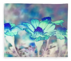 Heavenly Flowers Fleece Blanket