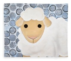 The Blessing Of The Lamb Fleece Blanket