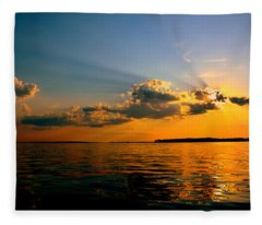 Perfect Ending To A Perfect Day Fleece Blanket