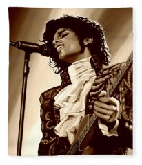 Prince The Artist Fleece Blanket