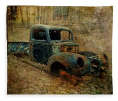 Resurrection Vintage Truck Fleece Blanket