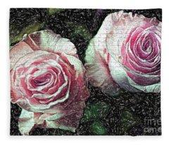 Romantisme Poetique Fleece Blanket