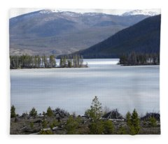 Granby Lake Rmnp Fleece Blanket