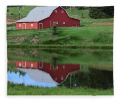 Red Barn Burgess Res Divide Co Fleece Blanket