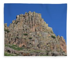 Mountain Scenery Hwy 14 Co Fleece Blanket