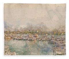 10879 Clearwater Marina Fleece Blanket