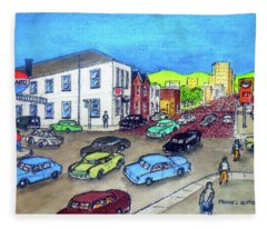 11th Street And Chillicothe Street The Old Salvation Army Citadel Fleece Blanket