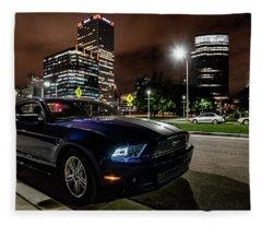 2014 Ford Mustang Fleece Blanket