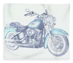 2015 Softail Fleece Blanket