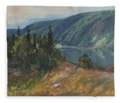 4196386  Carl Brandt   1871 1930    Landscape Fleece Blanket