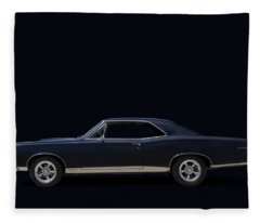 Pontiac Digital Art Fleece Blankets