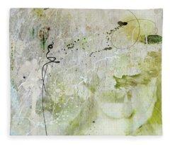 Abstract 43 Fleece Blanket