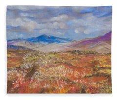 Alaskan Meadow Fleece Blanket