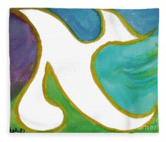 Aleph Alive Fleece Blanket