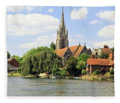 All Saints Church Fleece Blanket