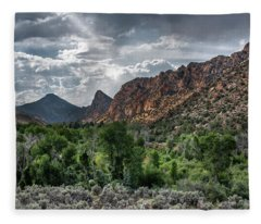Along The Way Fleece Blanket