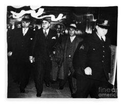 Alphonse Capone (1899-1947) Fleece Blanket