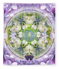 Always With You-2 Fleece Blanket