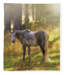Ambient Grace Fleece Blanket